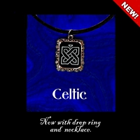 Celtic Pendant Necklace Kit counted cross stitch