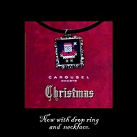 Christmas Pendant Necklace Kit counted cross stitch