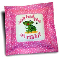 She Frog, you had me at ribbit