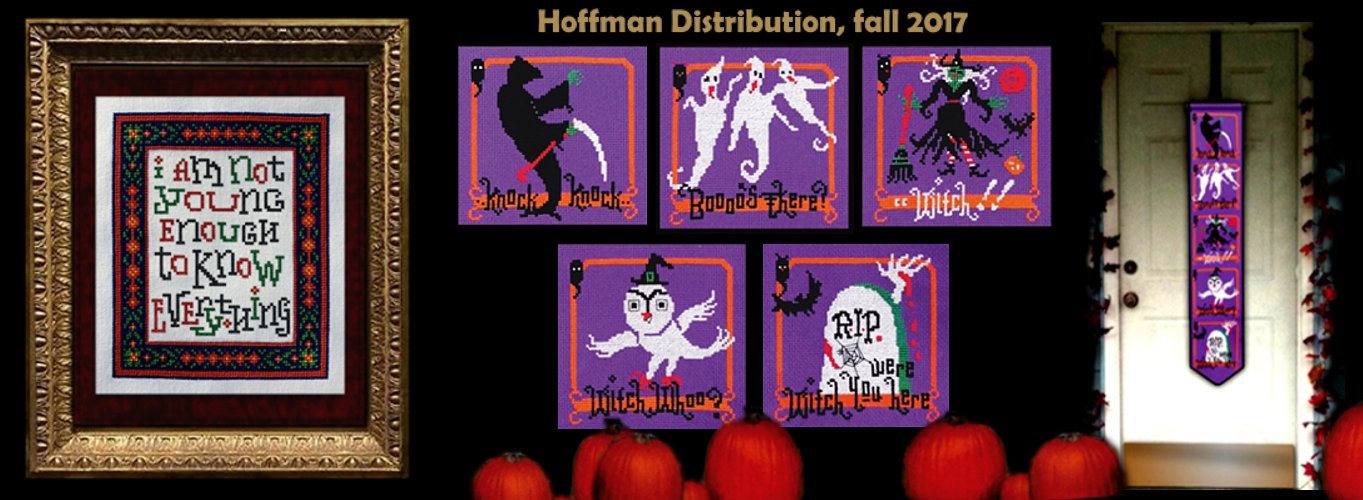 wholesale Hoffman distribution to local needlework retailer shops